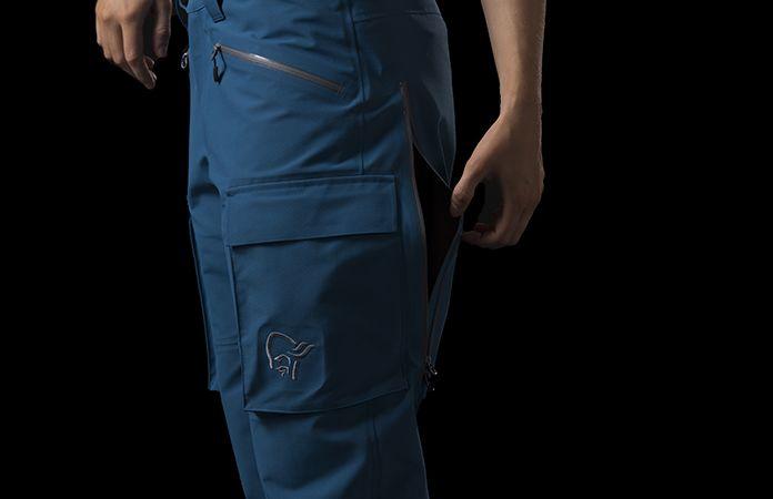 Norrona svalbard gore-tex pants for women