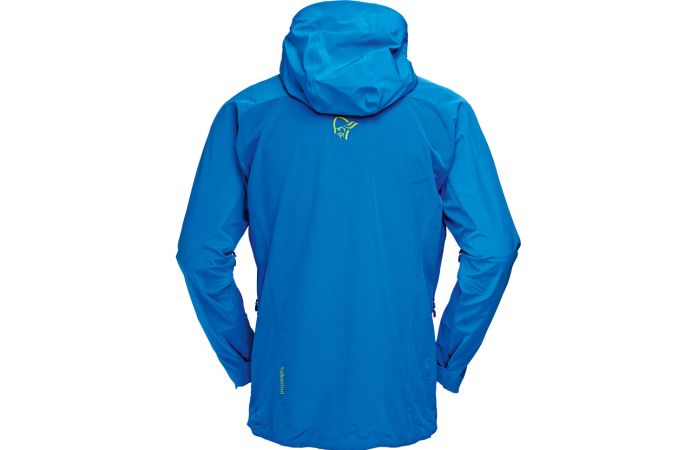 Norrona falketind windstopper hybrid jacket for men