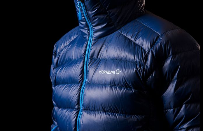 Norrona lyngen lightweight down750 ski touring jacket