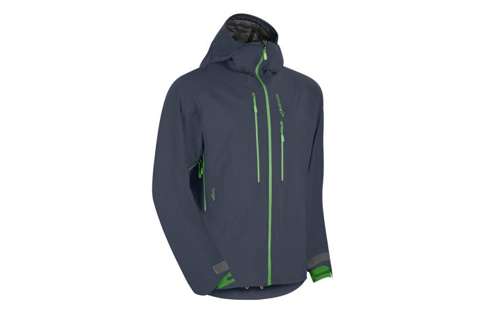 Norrona lyngen hybrid ski touring jacket for men