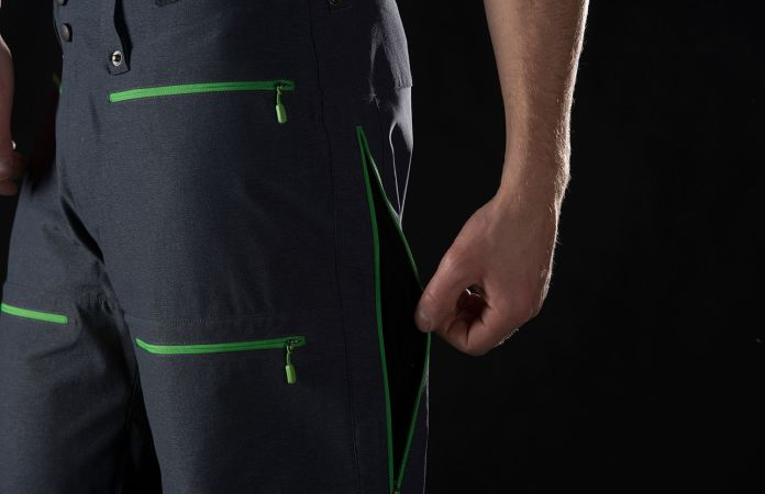 Norrøna lyngen hybrid ski touring pants for mens