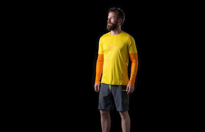 Norrona tech long sleeve Shirt for men