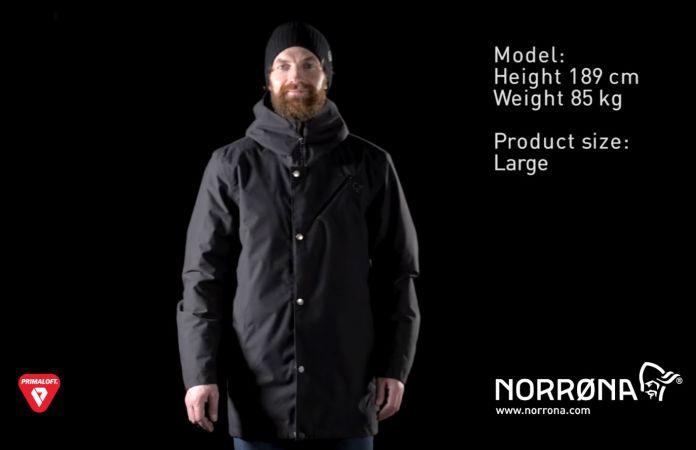 Norrøna primaloft coat for casual use