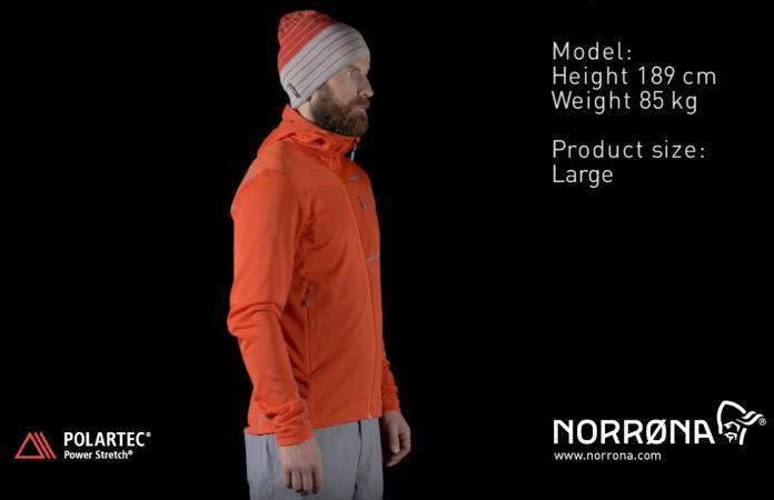 Norrøna bitihorn powerstretch genser til herre