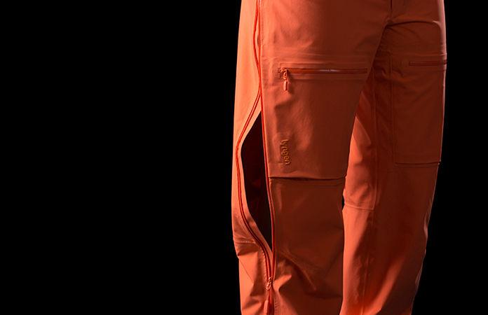 Norrøna lyngen driflex3 pants - leg ventilation