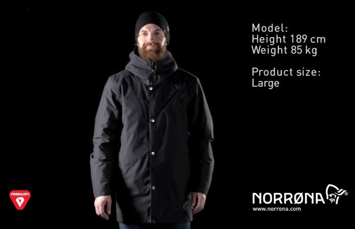 Norrøna primaloft coat for casual use