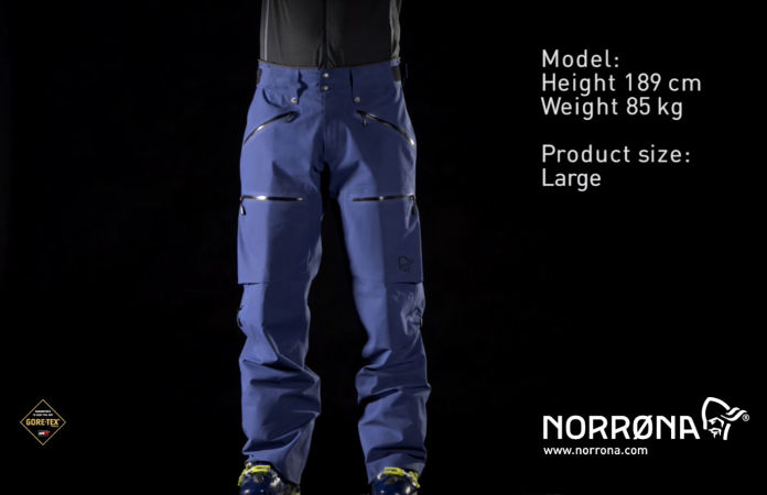 Røldal Gore-Tex Pants for men in blue