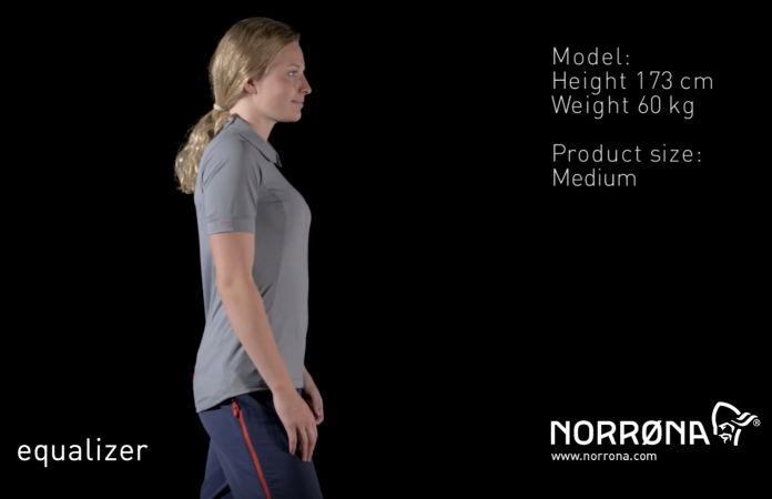 norrøna light womens t-shirt for mountain biking