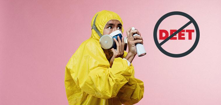 DEET free insect repellent