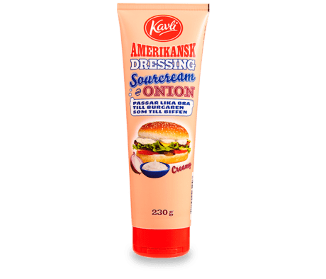 Kavli Amerikansk Dressing Sourcream & onion