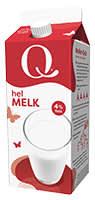 Q Helmelk er den ekte og naturlige helmelken.