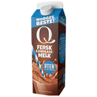 Nyheten Q Fersk Uten tilsatt sukker smaker slik skikkelig sjokolademelk skal smake