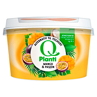 Q® Planti® Mango og Pasjon