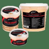 Eriks Chili Bearnaise för storhushåll - finns i tre förpackningsstorlekar