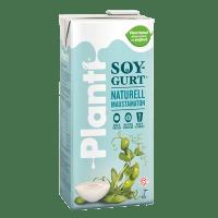 Planti Soygurt Naturell i förpackning