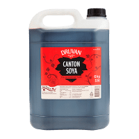 dunk med Druvan Canton Soya 5 liter