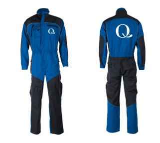 Kjeledress med Q-logo til bestilling