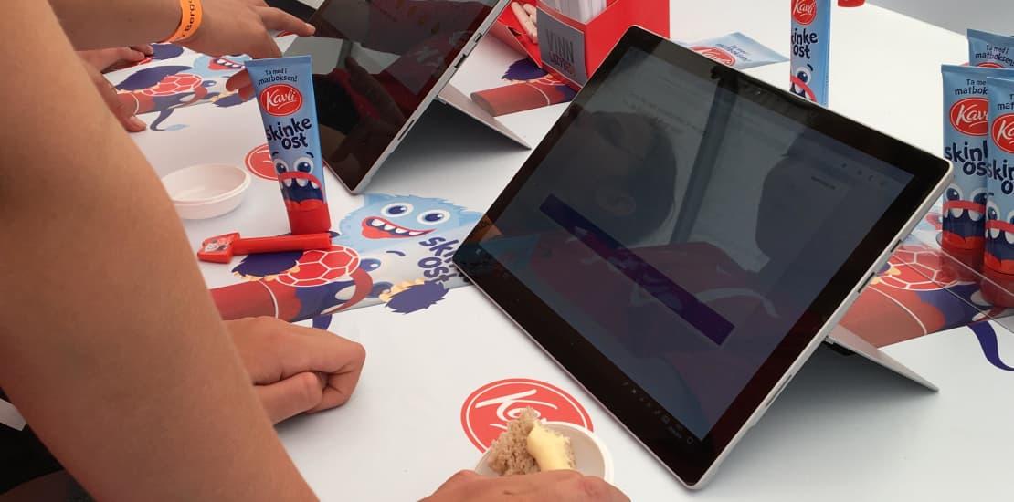Utvikler fremtidens smaker med ungdom på BergenCup