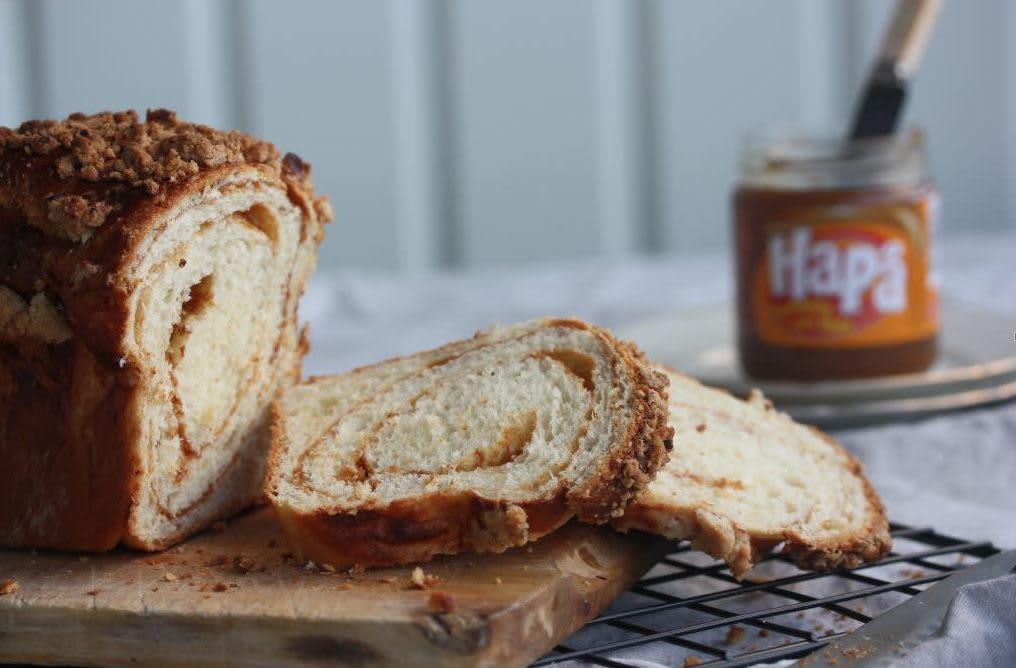 HaPå-brød med kanel og crumble
