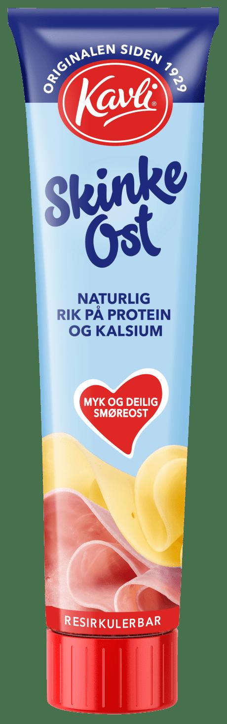 Kavli Skinkeost på tube. Originalen siden 1929.
