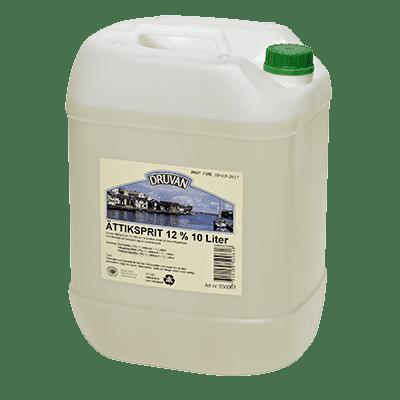 Druvan Ättikprit 12 % 10 liter i dunk