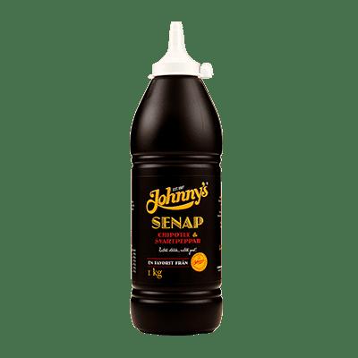 Flaska Johnny's Senap Chipottle & Svartpeppar