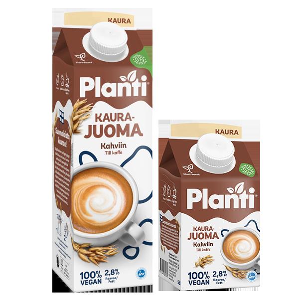 Planti Kaurajuoma Kahviin