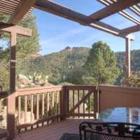THE private deck AT SEDONA VIEWS B&B