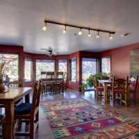THE living room at SEDONA VIEWS B&B
