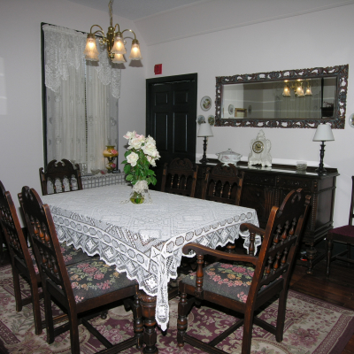 dining room River Park Inn Bed & Breakfast Green Cove Springs FL