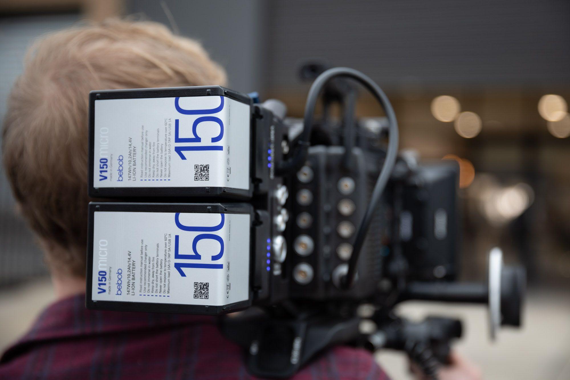 Battery Options & Run Times For The Arri Alexa Mini LF