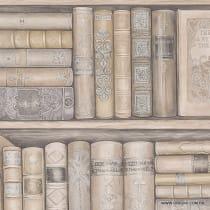 Papel de parede Decoração Livros Origini 142-48
