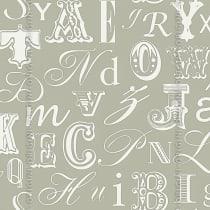 Papel de parede Decoração Infantil Letras Origini 27-36