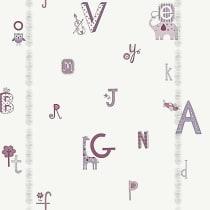 Papel de parede Decoração Infantil Letras Origini 27-38