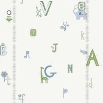 Papel de parede Decoração Infantil Letras Origini 27-39