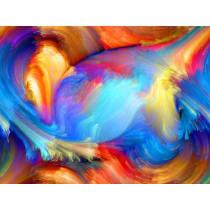 Painel Fotográfico Abstrato Fibra Origini