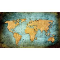 Painel Fotográfico Mapa Mundi Origini
