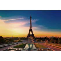 Painel Fotográfico Torre Eiffel Amanhecer Origini