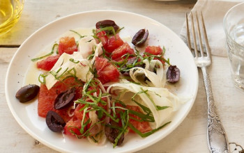 Blood Orange and Olive Salad