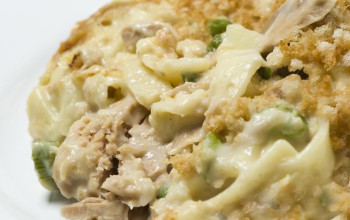 Tuna Cottage Cheese Casserole