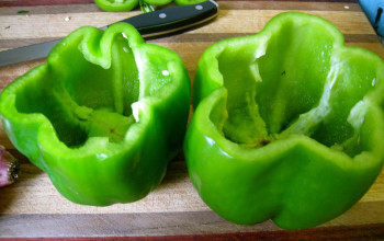 High-Flavor Low-Fat Stuffed Peppers