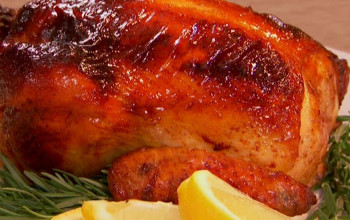 Honeyed Chicken with Apricots