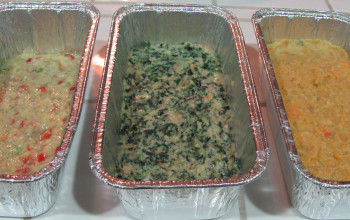 Carrot and Spinach Gefilte Fish Terrine