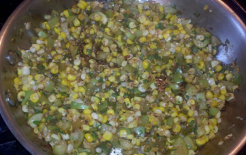 Tomatillo and Corn Salsa
