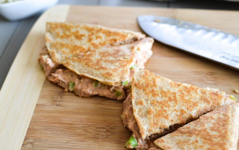 Quick Tuna Quesadillas
