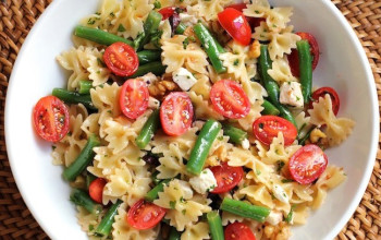 Dilled Green Bean and Pasta Salad