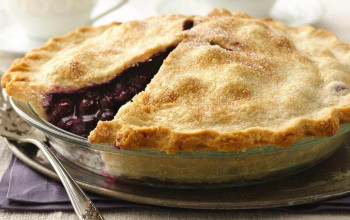 Two-Crust Blueberry Pie