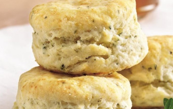 Salted Buttermilk Herb Biscuits