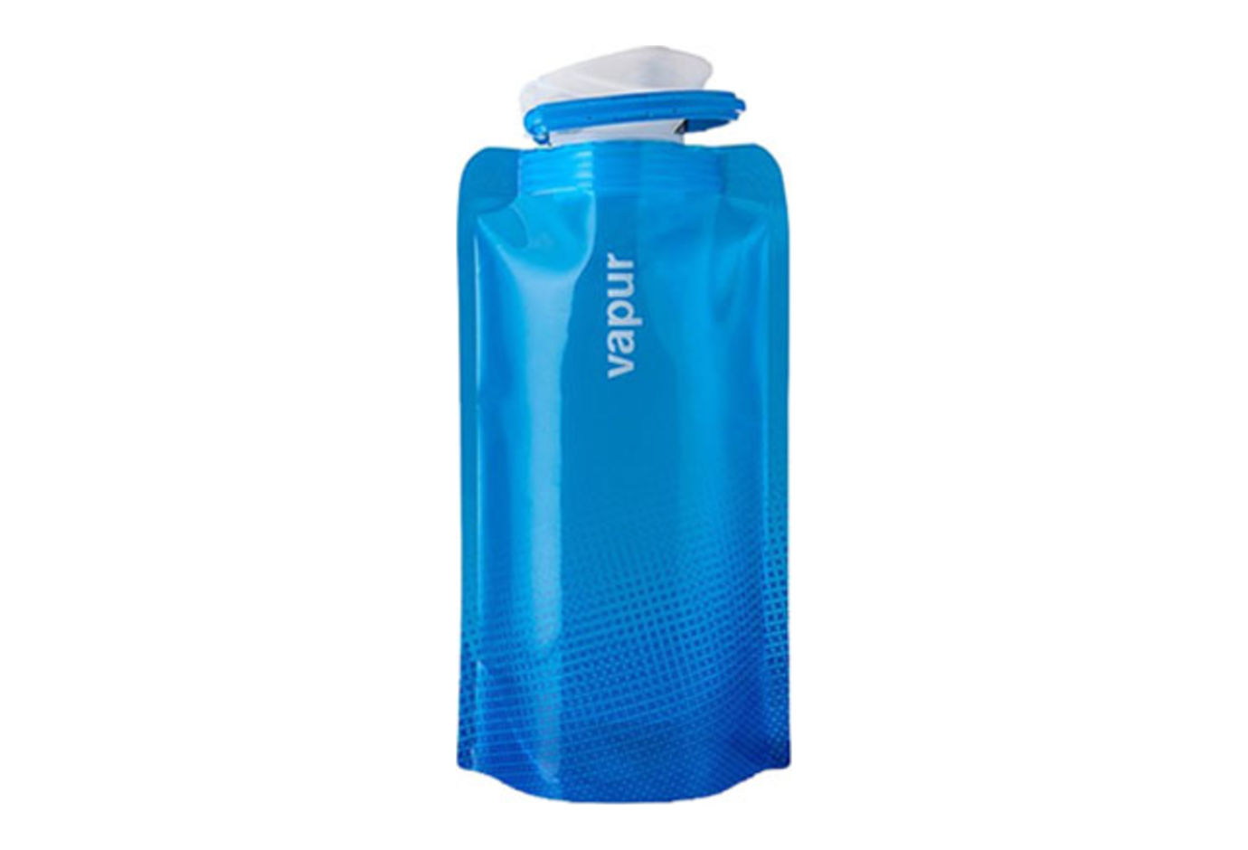 Vapur Shades .5L Collapsible Water Bottle Cyan Blue