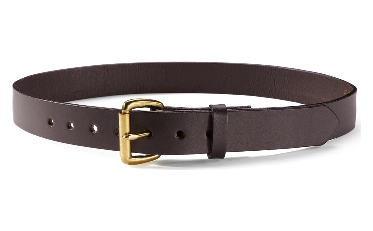 filson 63203 1 1 4 inch leather belt brown 36